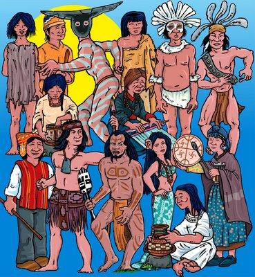 concepcion antropologica del indigena en la epoca prehispanica